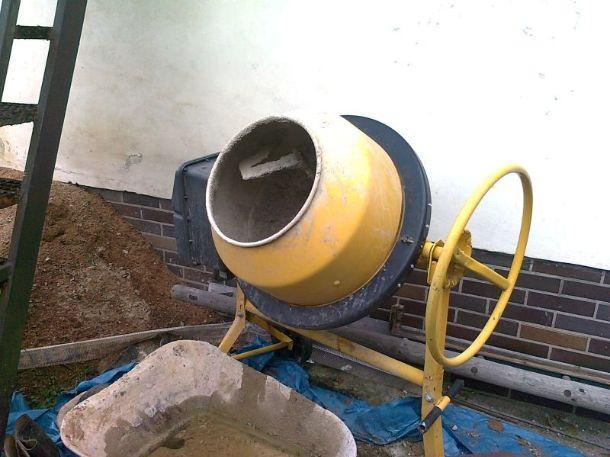Stavební míchačka ALKO, levně, použitá - bazar
