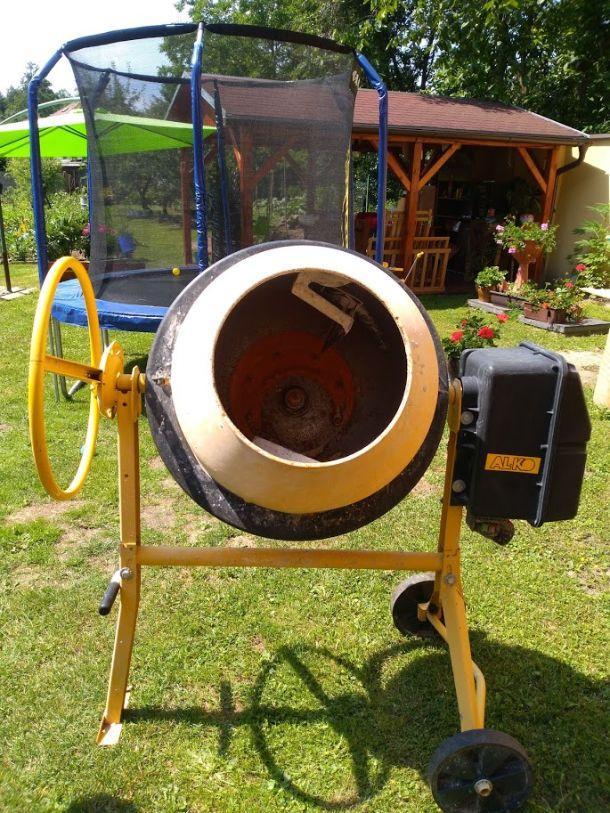 Míchačka AL-KO TOP 1402 HR černá/žlutá použitá na prodej