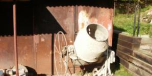 Míchačka betonu - Levně z bazaru