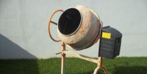 Míchačka LIMEX 125LP, 230V/700W, objem 125l - bazar