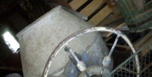 Stavební míchačka - 125 litrů, 380V, oboustranný chod