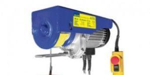 Elektrický vrátek 300/600 kg, včetně kladky (bazar, na prodej)