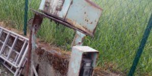 Poškozená nefunkční Stavební míchačka na prodej, vlastní odvoz