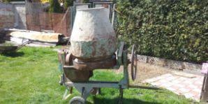 Velkoobjemová míchačka na beton/maltu na 5 koleček