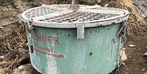 Použitá míchačka na beton za traktor na prodej (tříbodový závěs)